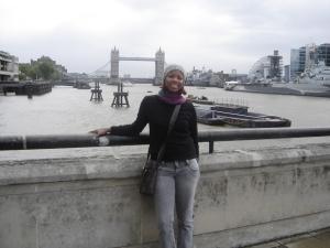 London Bridge ao fundo