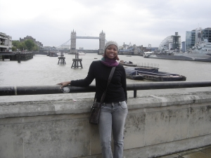 London Bridge ao fundo