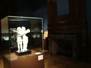Escultura de Psique e Eros